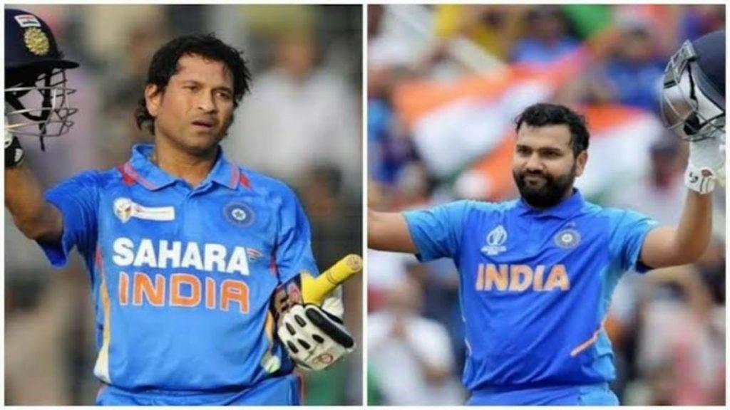 Rohit Sharma Recalls 5 best Knocks Of Sachin Tendulkar - FirstSportz