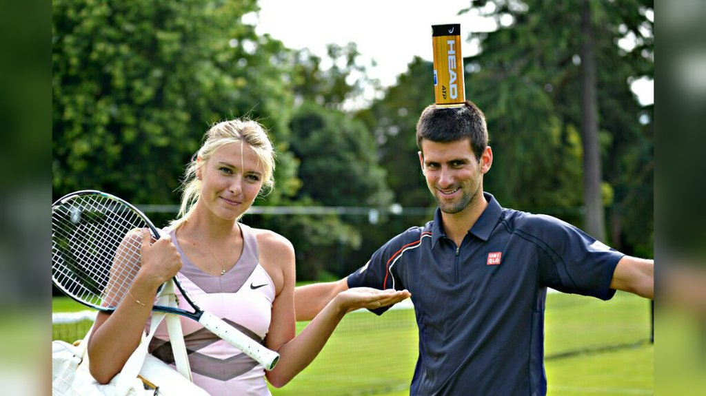 Novak Sharapowa 1 - FirstSportz