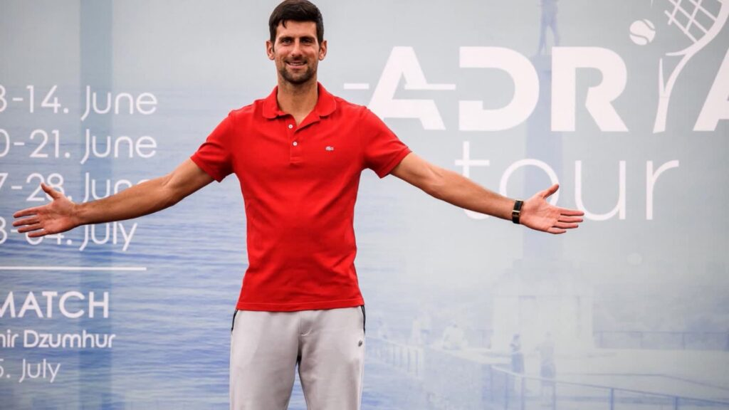 Novak Adria Tour - FirstSportz