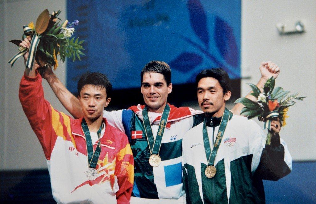 Mens Singles winners, Badminton, Atlanta Olympics 1996