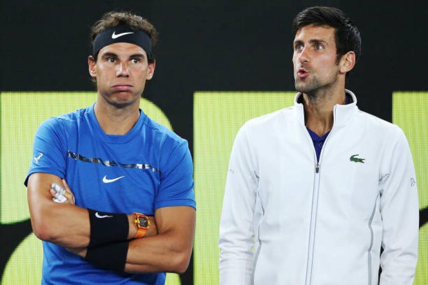 Djokovic and Nadal - FirstSportz