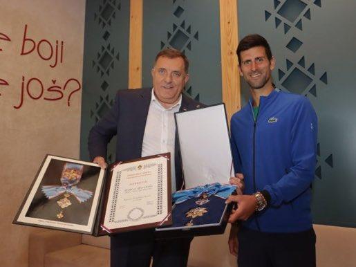 Djokovic award - FirstSportz
