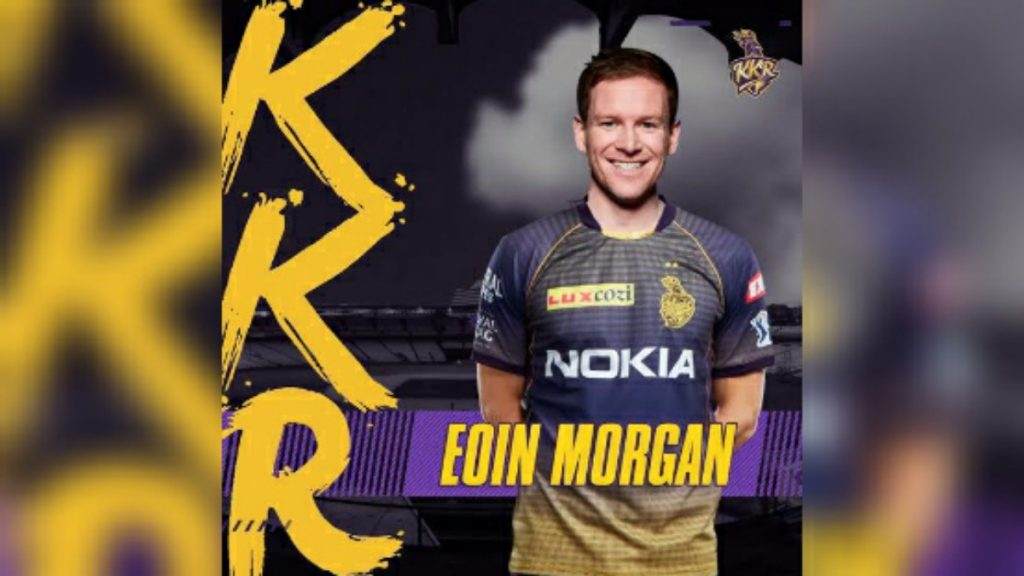 Eoin Morgan KKR 1 - FirstSportz
