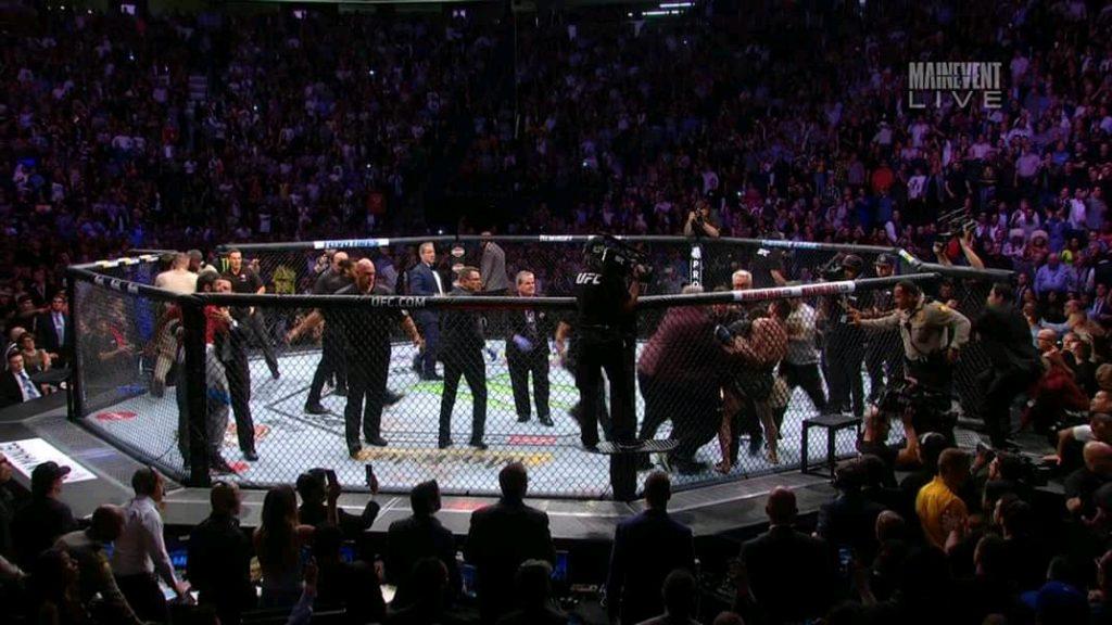 Khabib McGregor brawl