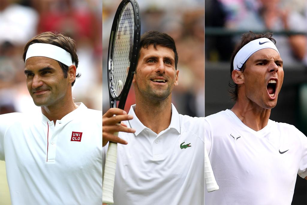 Federer Djokovic Nadal - FirstSportz