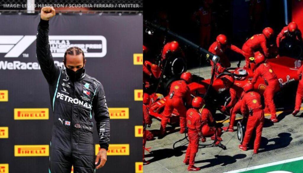 Hamilton Team Ferrari - FirstSportz