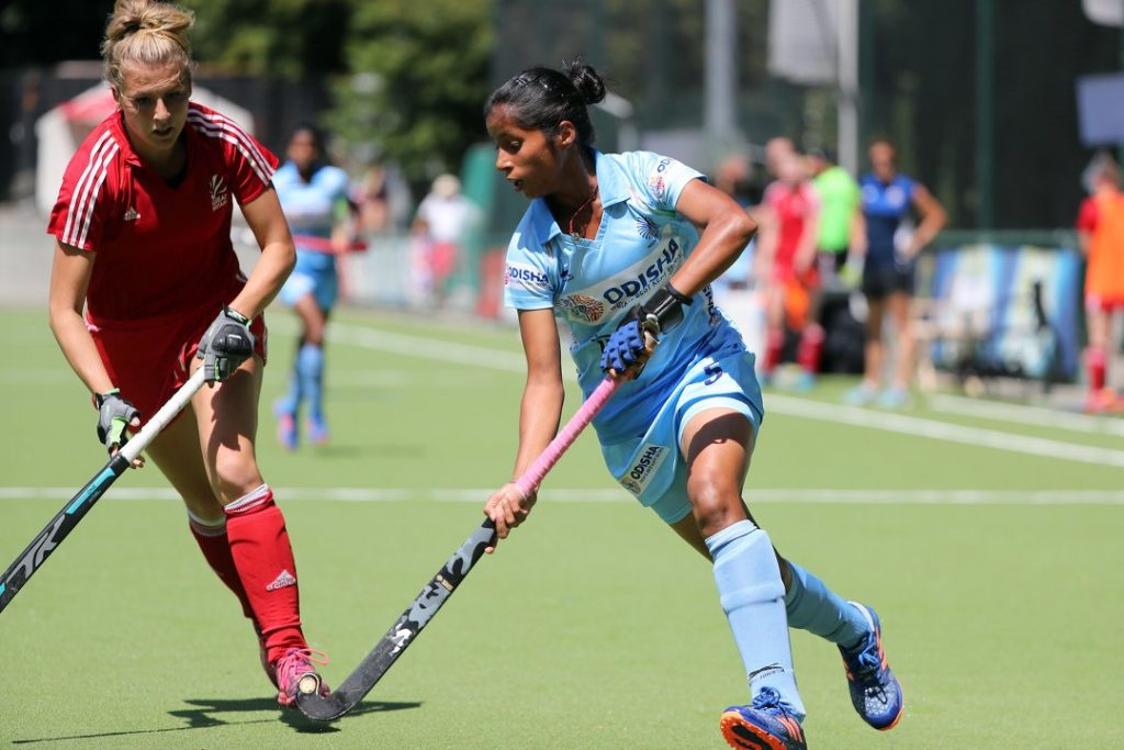 Ishika Chaudhary Indian Hockey - FirstSportz