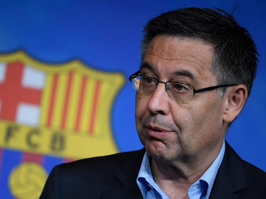 Josep Bartomeu serious - FirstSportz