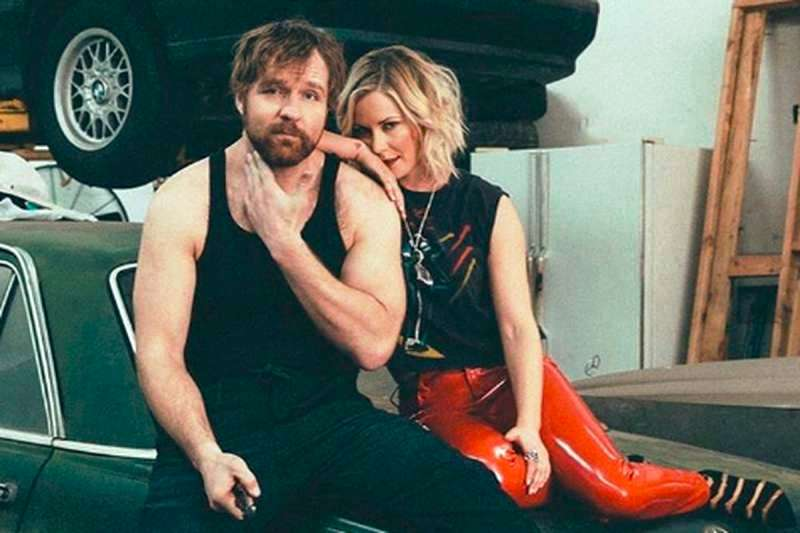 Renee Young With Her Husband Dean Ambrose - FirstSportz