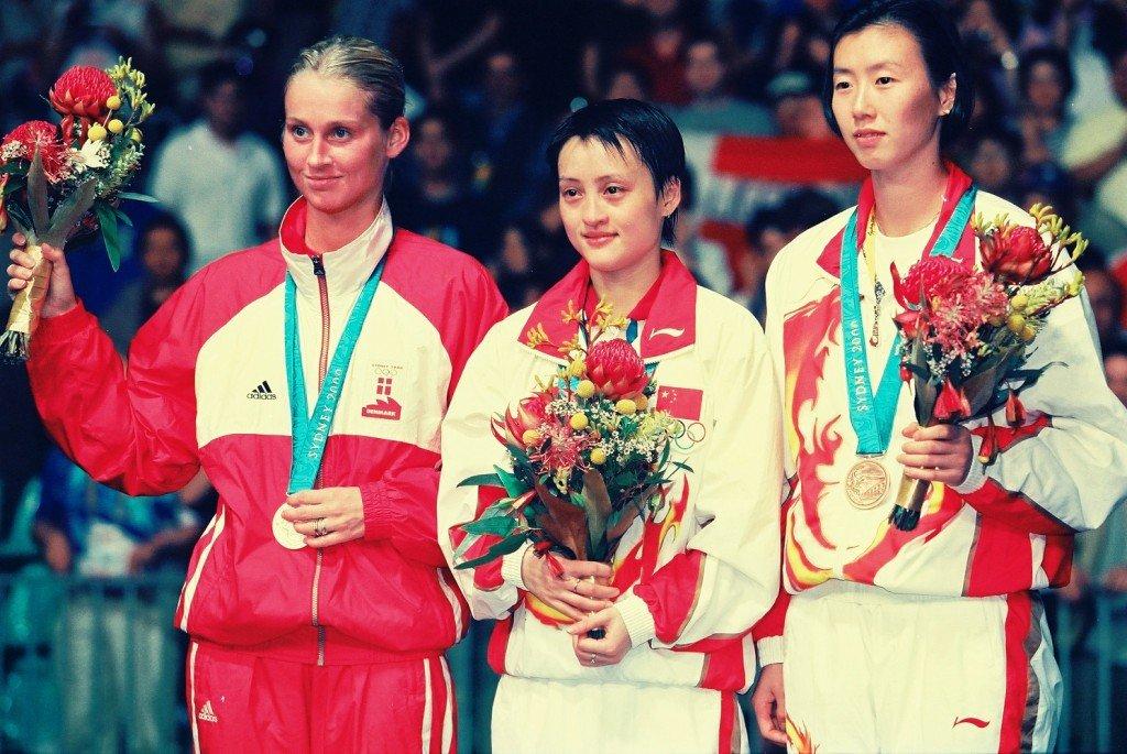 Women's singles winners in Badminton at Sydney Olympics 2000at Sydney 2000
