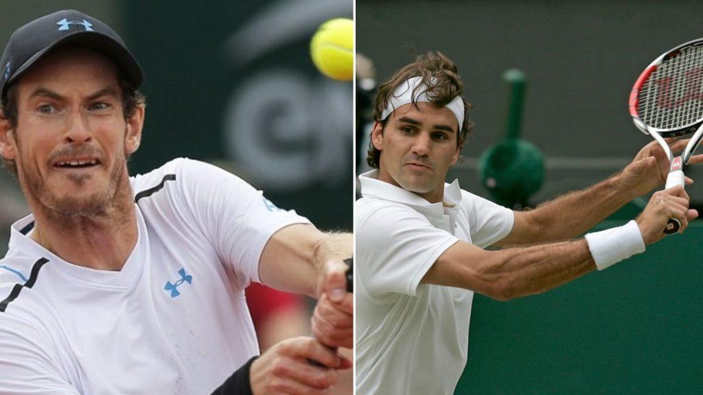 Andy Murray Roger Federer - FirstSportz