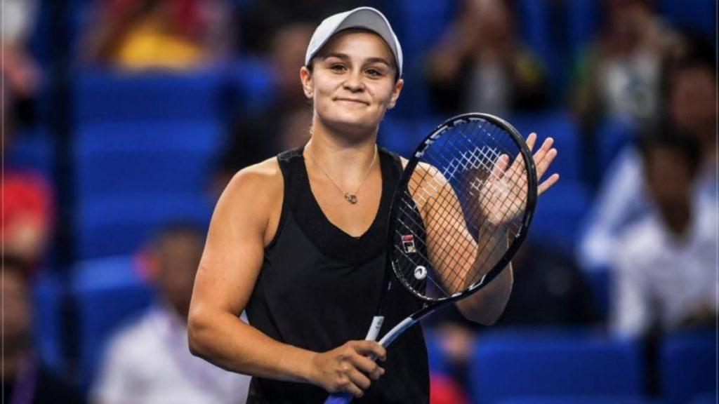 Ashleigh Barty promotes tennis - FirstSportz