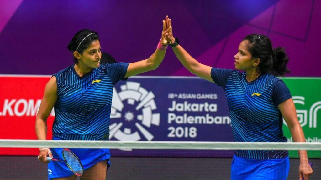 Ashwini Ponnappa N Sikki Reddy - FirstSportz