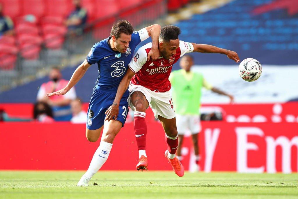 Cesar Azpilicueta FA cup final 1 - FirstSportz