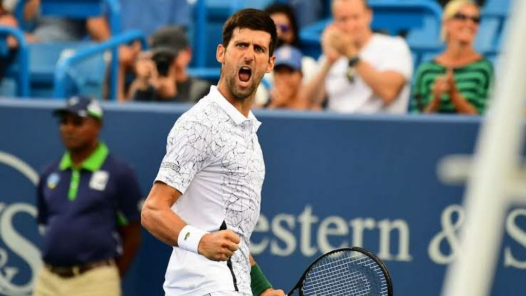 Cincinnati Open Novak Djokovic - FirstSportz