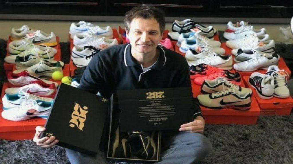 Edson Balbinot roger federer - FirstSportz