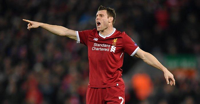 James Milner Liverpool1 1 - FirstSportz