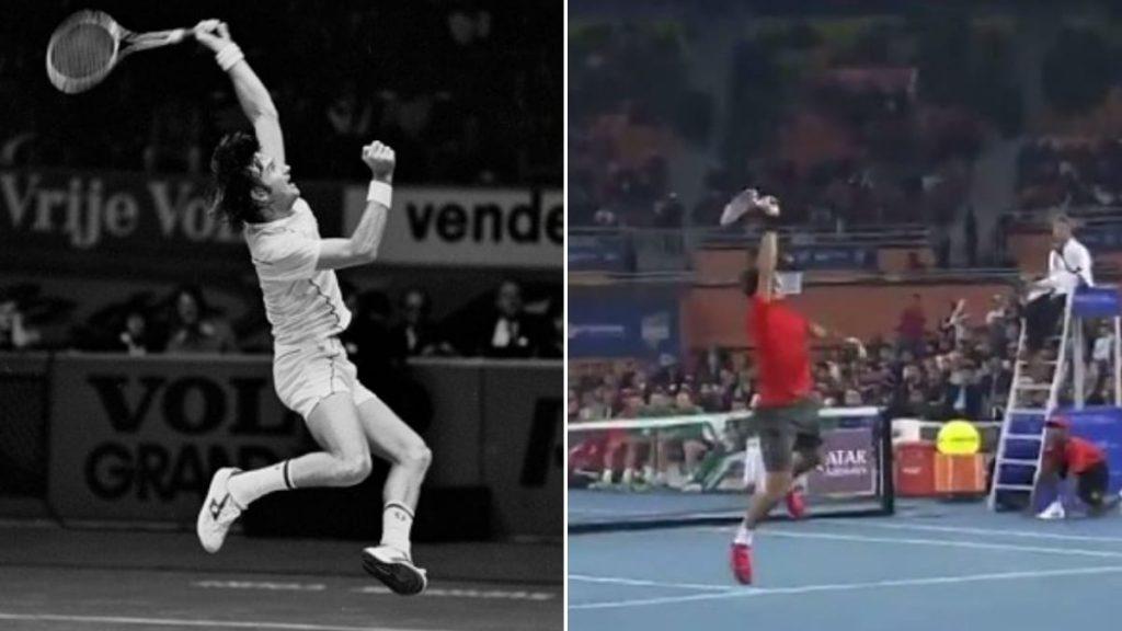Jimmy Connors Roger Federer - FirstSportz