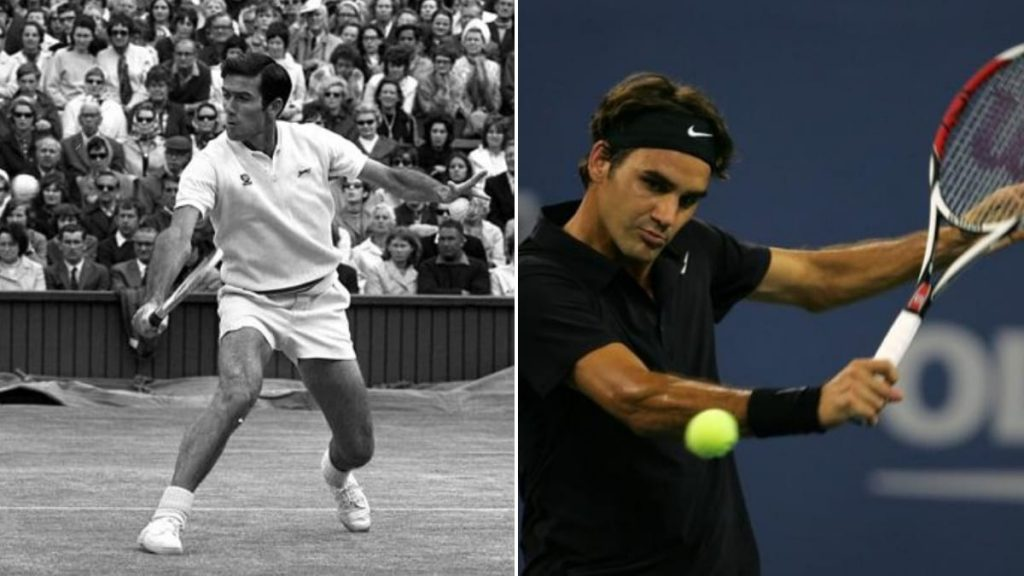 Ken Rosewall Roger Federer - FirstSportz