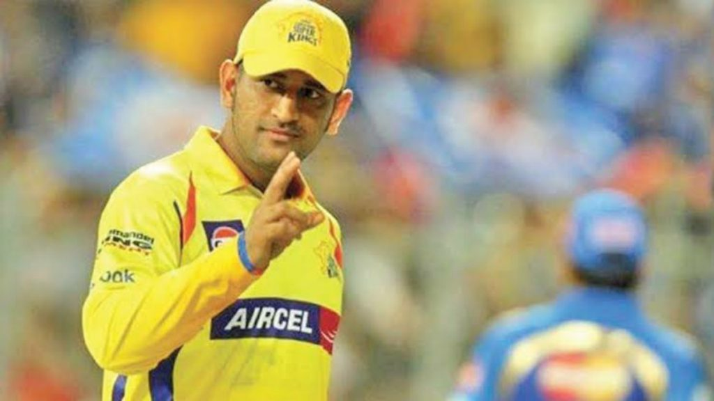 MS Dhoni CSK - FirstSportz