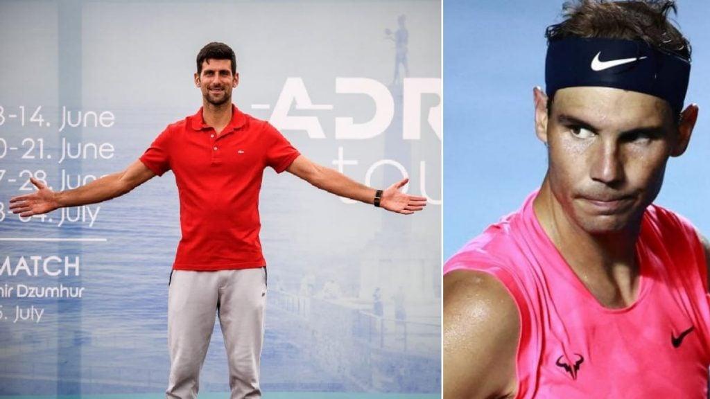 Nadal on Novak Adria Tour - FirstSportz