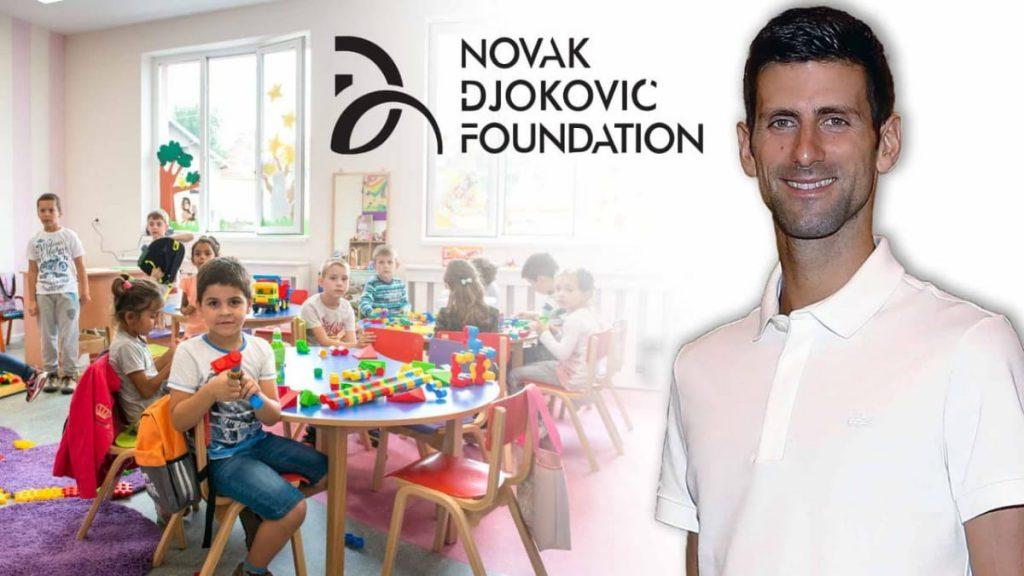 Novak Djokovic Foundation makes 12 Million donation for construction of school - FirstSportz