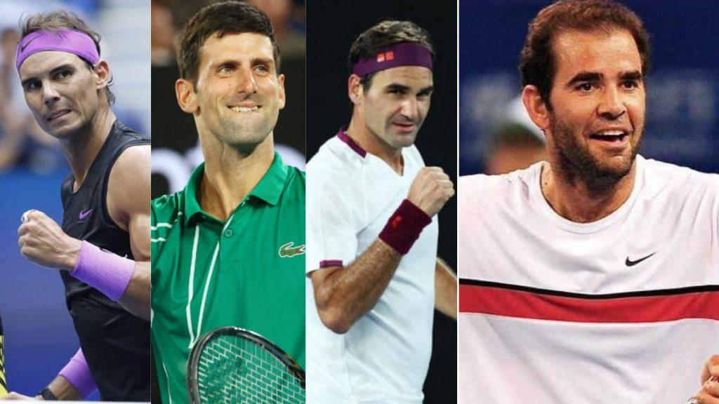 Pete Sampras On BIG 3 Roger Nadal Novak - FirstSportz