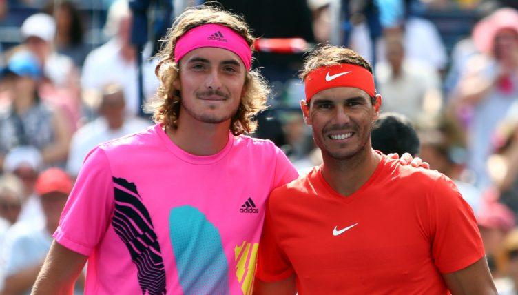 Stefanos Tsitsipas and Rafael Nadal - FirstSportz