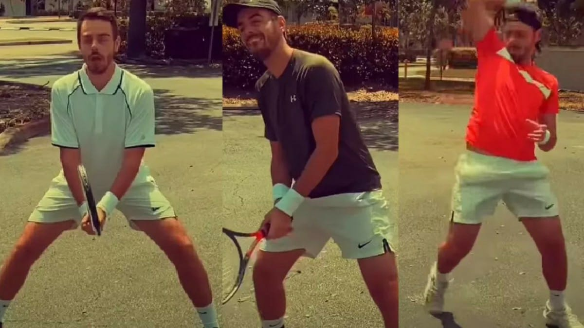 This Hilarious Video With Impressions Of Djokovic Nadal Murray And Federer Is So Accurate Firstsportz