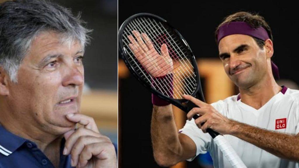 Toni Nadal Roger Federer - FirstSportz