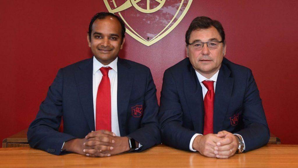 Vinai Venkatesham and raul sanhelli - FirstSportz
