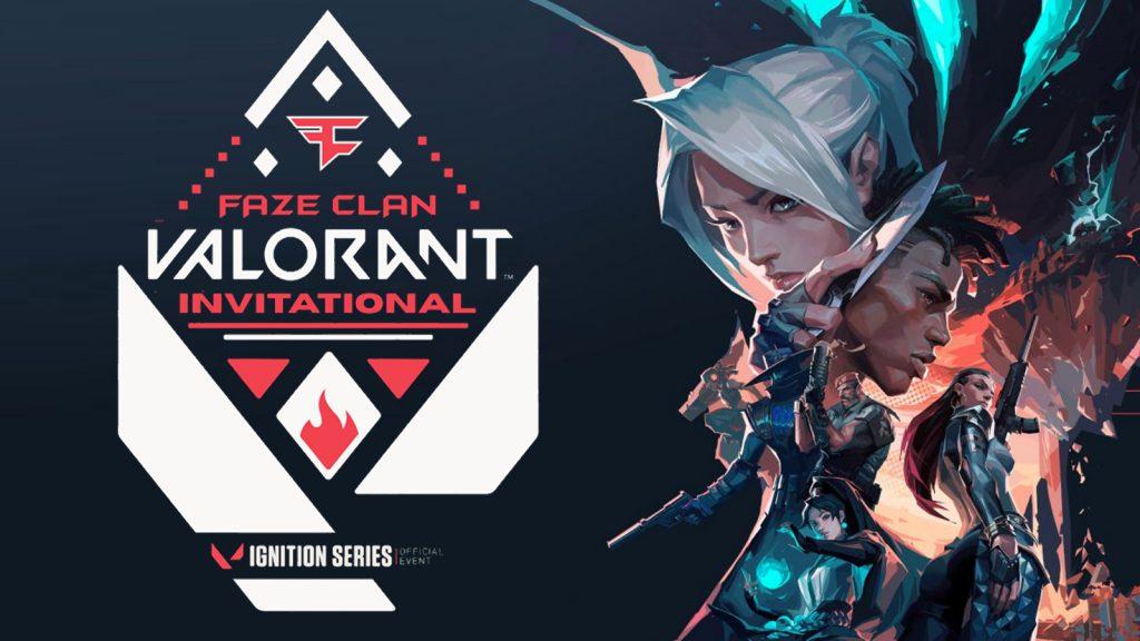 faze clan valorant invitational - FirstSportz