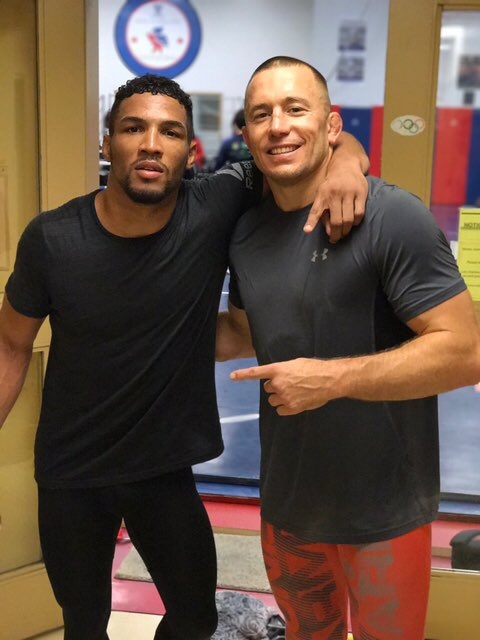 kevin lee and St Pierre - FirstSportz