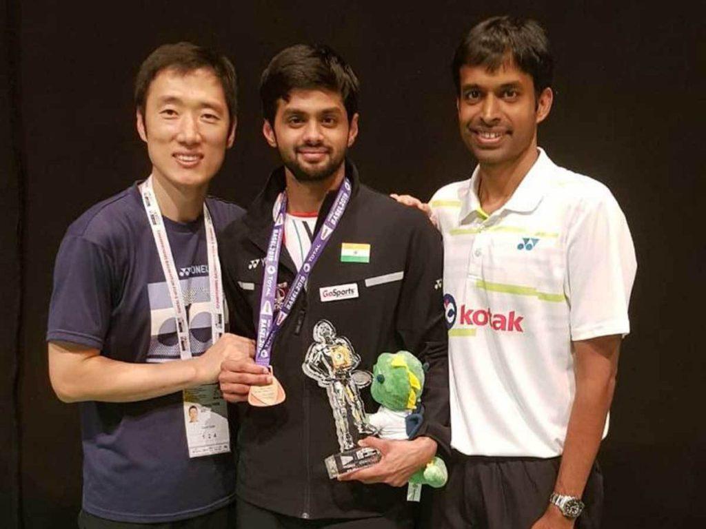 Sai Praneeth World Championship Bronze
