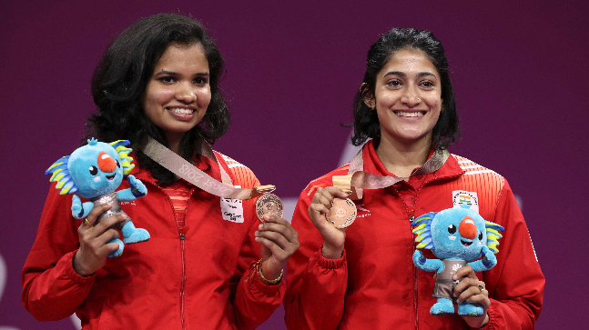 Ashwini Ponnappa and Sikki Reddy Commonwealth 2018 Bronze