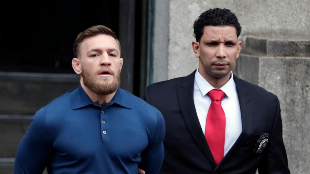 Conor McGregor arrested