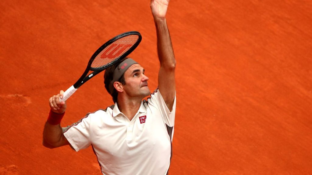 Federer at French Open - FirstSportz