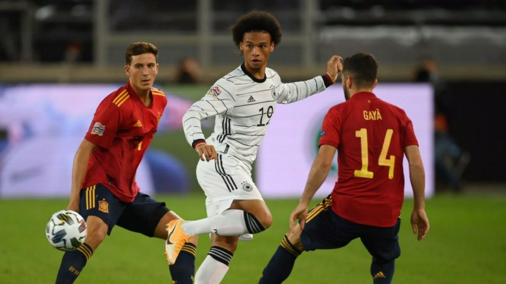 Germany 1 1 Spain The Match Ends As A Draw As Gaya Scores Late Equaliser Firstsportz
