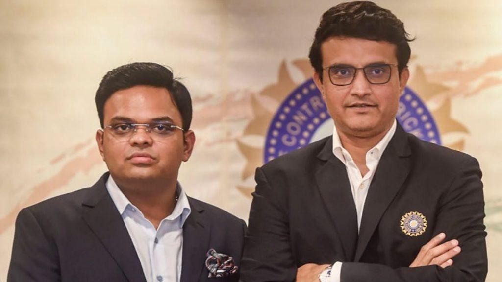 Jay shah and Sourav Ganguly - FirstSportz