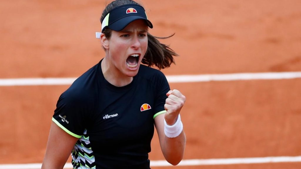 Johanna Konta will be the favourite in the 2nd round match vs Magda Linette at the Miami Open 2021.