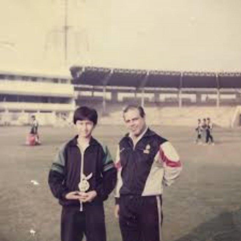 Jwala Gutta with coach SM Arif