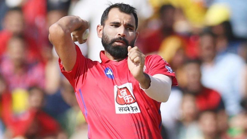 Mohammad Shami Kings XI Punjab - FirstSportz