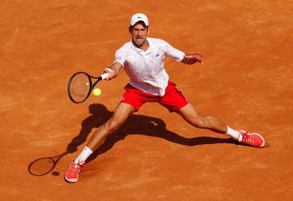 Italian Open 2020 Novak Djokovic One Step Away From 36th Atp Master Title Cruises Ahead From Semi Finals Firstsportz