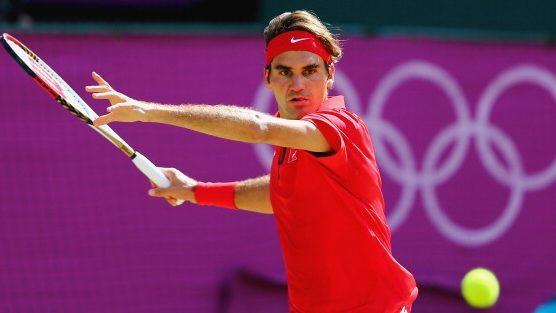 Roger Federer at Olympics