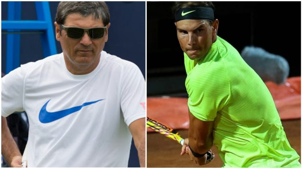 nadal and toni nadal - FirstSportz