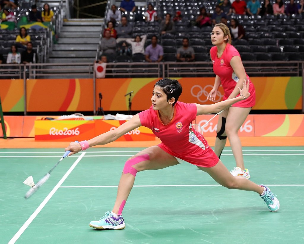 Ashwini Ponnappa and Jwala Gutta at Rio Olympics 2016
