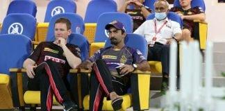 Eoin Morgan and Dinesh Karthik