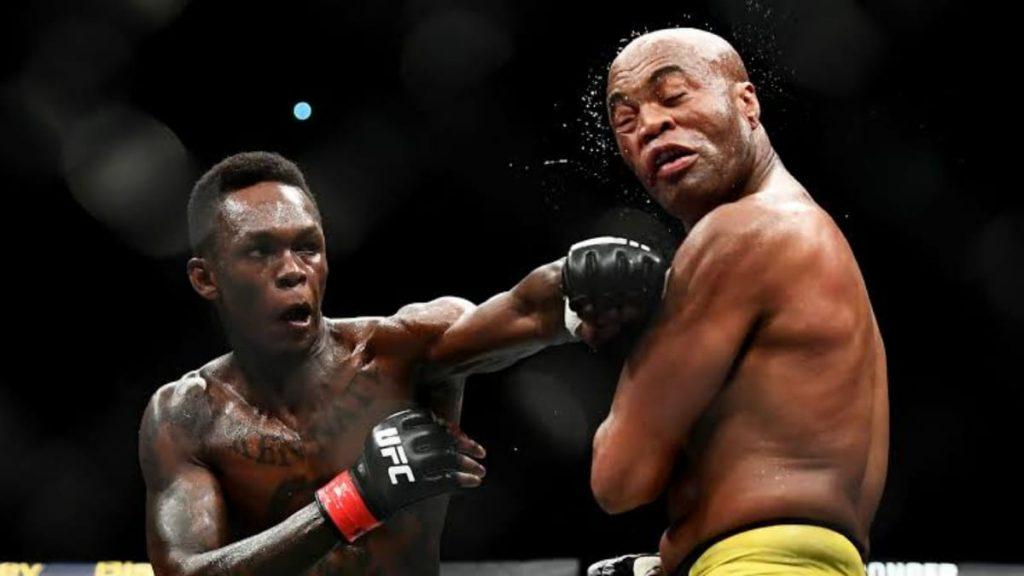 Israel Adesanya vs Anderson Silva