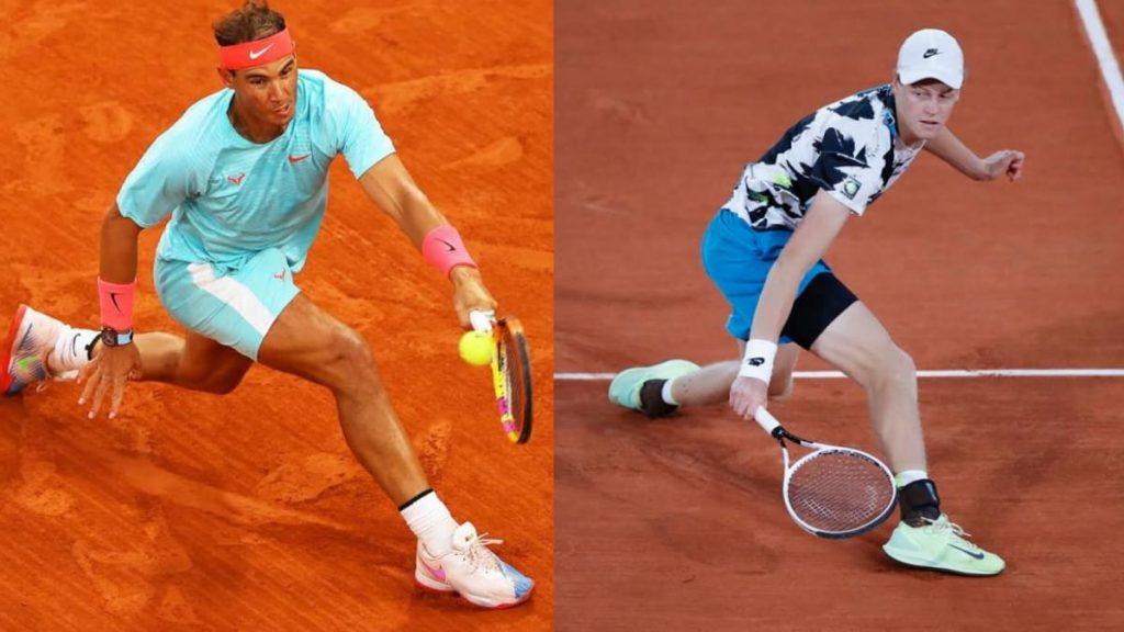 Jannik Sinner Rafael Nadal - FirstSportz