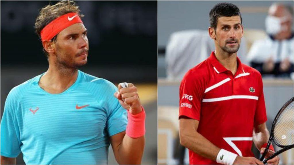 Nadal Djokovic Rafael Nadal - FirstSportz
